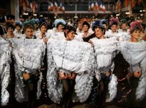 Le ballet des crinolines au Moulin Rouge. DR