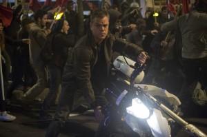 Jason Bourne (Matt Damon) en action. DR