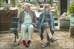 Norman (Pierre Richard) et Martha (Emmanuelle Riva). DR