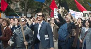 Godard au coeur des manifestations de mai 68. DR