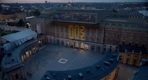 """""""The Square"""", une installation devant le X-Royal Museum. DR"""