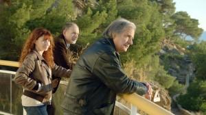 Angèle (Ariane Ascaride), Jospeh (Jean-Pierre Darroussin) et Armand (Gérard Meylan).