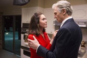 Mark Felt (Liam Neeson) et son épouse (Diane Lane). DR