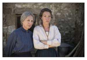 Hortense (Nathalie Baye) et Solange (Laura Smet).