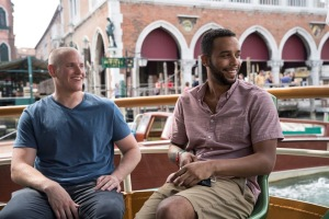 Spencer Stone et Anthony Sadler à Venise. DR
