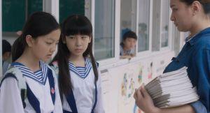 Wen (Zhou Meijun) et Lily (Peng Jing), deux gamines victimes. DR