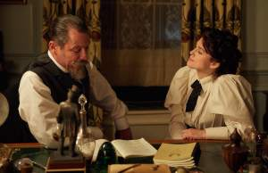 Willy (Dominic West) et Colette (Keira Knightley). DR