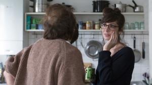 Léonard (Vincent Macaigne)  et Valérie (Nora Hamzawi). DR
