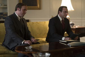 Dick Cheney et Donald Rumsfeld (Steve Carell). Photos Matt Kennedy