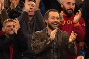 Valerio découvre la talent de Christian dans les rangs de la Roma. DR