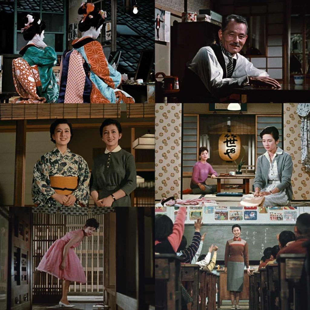 Ozu en couleurs
