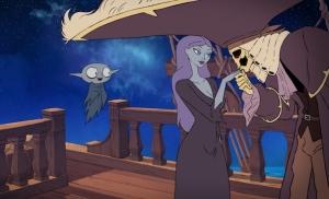 """""""Petit Vampire"""": Pandora et le Capitaine des morts. DR"""