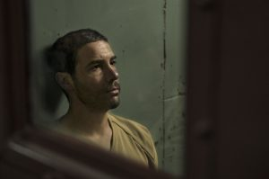Mohamedou Ould Slahi (Tahar Rahim) à Guantanamo. DR