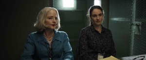 Nancy Hollander (Jodie Foster) et Teri Duncan (Shailene Woodley), les avocates de Slahi. DR