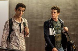Adnan (Kasem Al Khoja) et Gabriel (Finnegan Oldfield). Photos Pascal Chantier