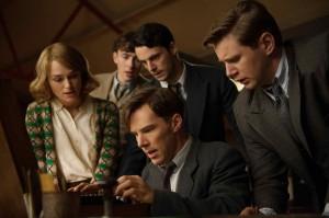 Keira Knightley, Matthew Beard, Matthew Goode, Benedict Cumberbatch et Allen Leech. DR