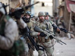 Les Marines à l'oeuvre en Irak.  DR