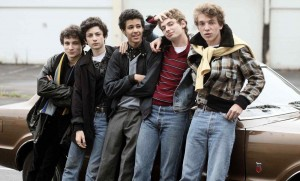 Paul Dédalus (à gauche) et sa bande de copains...