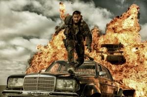 Mad Max (Tom Hardy) en pleine action. DR