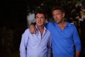 Antoine (François Cluzet) et Laurent (Vincent Cassel).