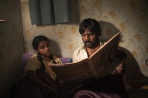 Illayaal (Claudine Vinasithamby) et Dheepan (Antonytahasan Jesuthasan)