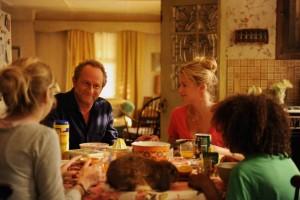 Paul-André et Violette en famille... DR