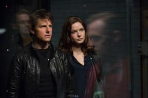 Ethan Hunt (Tom Cruise) et Isa Faust (Rebecca Ferguson).