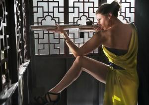 Ilsa Faust (Rebecca Ferguson) va faire mouche...