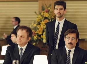 John  C. Reilly, Ben Whishaw et Colin Farrell.  DR