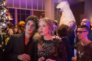 Lolo (Vincent Lacoste) et Violette sa mère (Julie Delpy).