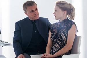 Franz Oberhauser (Christoph Waltz) et Madeleine Swan (Léa Seydoux). DR