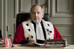 Michel Racine (Fabrice Luchini) préside la cour d'assises du Pas-de-Calais. DR
