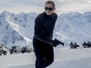 James Bond (Daniel Craig) en action dans les Alpes autricheinnes. DR