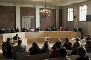 La cour d'assises, théâtre de la détresse humaine. DR