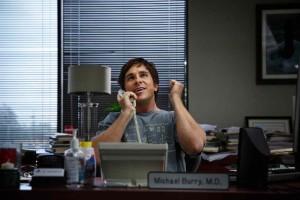 Michael Burry (Christian Bale), un génie excentrique de la finance... DR