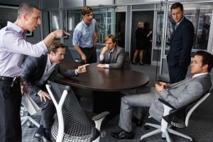 Quand l'excitation gagne dans les bureaux de la finance... DR