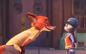 """Nick le renard et Judy la lapine, héros de """"Zootopie"""". DR"""
