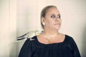 Carmina Barrios incarne l'extravagante Carmina. DR