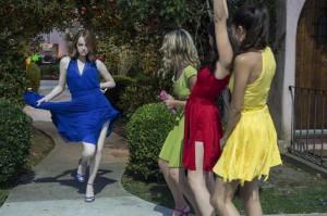 Mia (Emma Stone) et ses copines... DR