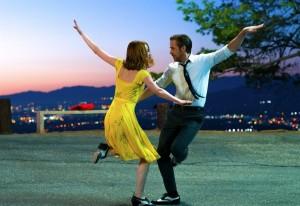 Mia (Emma Stone) et Sebastian (Ryan Gosling). DR