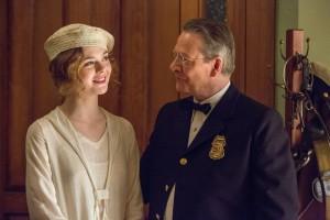 Loretta Figgis (Elle Fanning) et son shérif de père (Chris Cooper). DR
