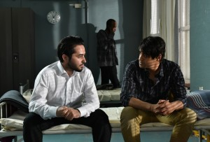 Sherwan Haji et Simon Hussein Al-Bazoon. Photos Malla Hukkanen