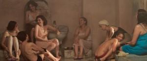 Femmes algériennes au hammam.