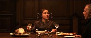 Katherine à l'heure du dîner.