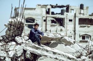 Mohammed Assaf (Tawfeek Barhom) à Gaza. DR