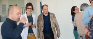 Marie-Francine et son désormais ex (Denis Podalydès). DR