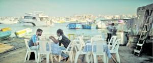 Au bord de la mer à Alexandrie. DR
