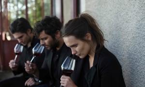 """Jérémie (François Civil), Jean (Pio Marmaï) et Juliette (Ana Girardot) dans """"Ce qui nous lie"""". DR"""