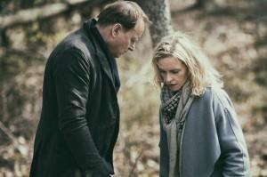 Max Zorn (Stellan Skarsgard) et Rebecca Epstein (Nina Hoss). DR