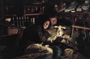 On the Milky Road: Monica Bellucci et Emir Kusturica. DR